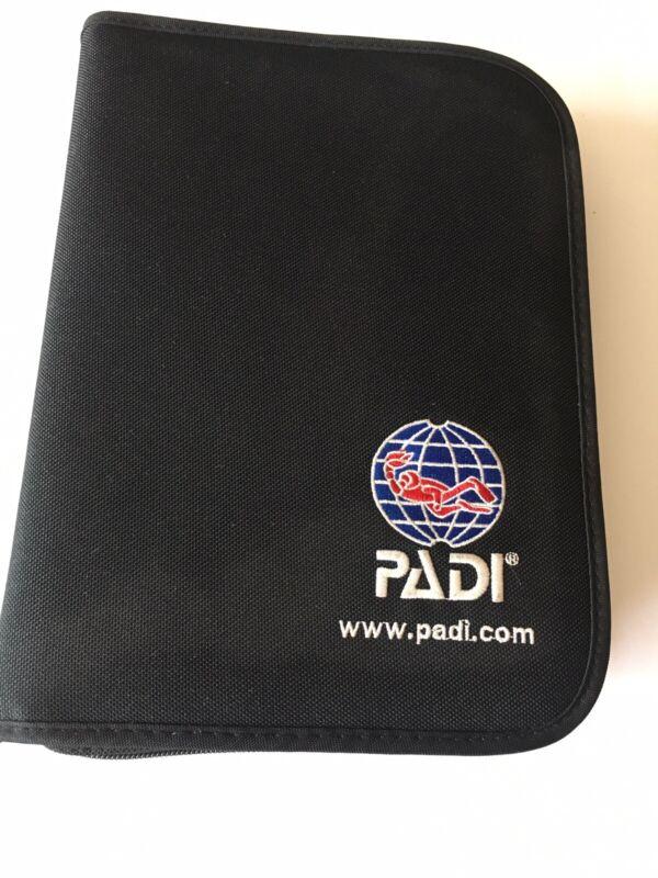 PADI  Binder - Nylon Fabric, Black Binder