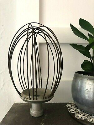 Antique Hobart Wire Whip Commercial Whisk Attachment Industrial Light Vintage