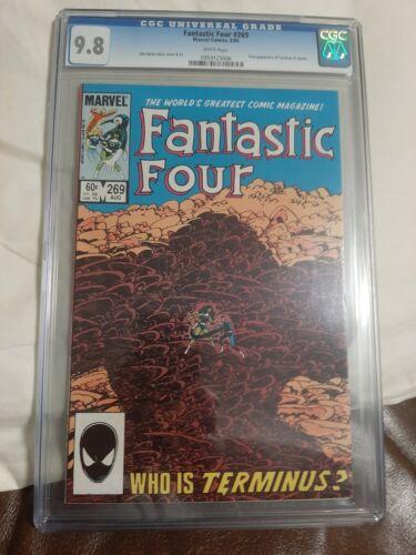 Fantastic Four 269 CGC 9.8 Terminus