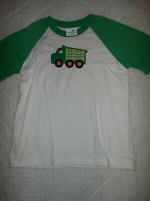 Just Ducky - Just Ducky Boys Shirt Size 6 Truck  Embroidered Boutique