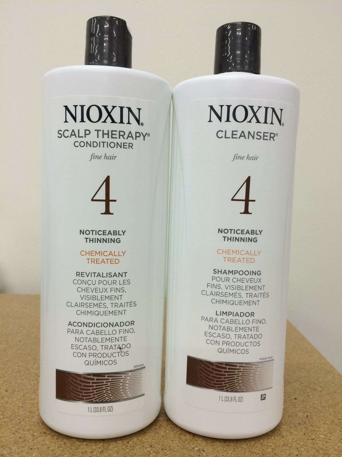Nioxin System 4 Cleanser Scalp Therapy Duo Set Shampoo Condi