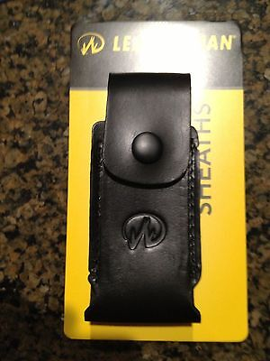 "LEATHERMAN Premium Leather SHEATH 4.5"" #931017 for Surge, Supertool, Core  NEW"