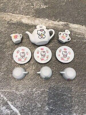 Hello Kitty China Tea Set
