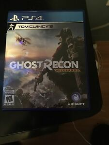Ghost recon wildlands    For ps4 with unused code