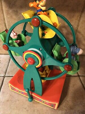 Disney Winnie the Pooh Musical Christmas Holiday Ferris Wheel Eeyore Tigger ()