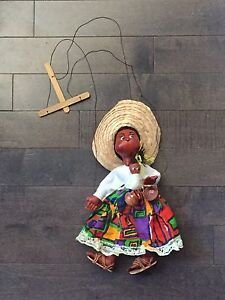 Handmade Mexican String Puppet
