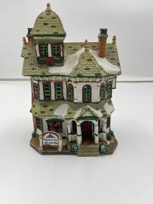"Lemax Caddington Village - ""Princeton Inn""  #25747CV  Used"