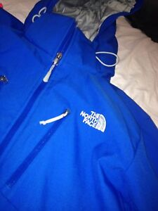North face jacket & nike sweater