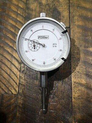 Fowler .001 0-1 Range Dial Indicator
