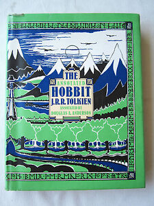 THE-ANNOTATED-HOBBIT-J-R-R-Tolkien-LORD-OF-THE-RINGS-Illustrated-1st-Edition