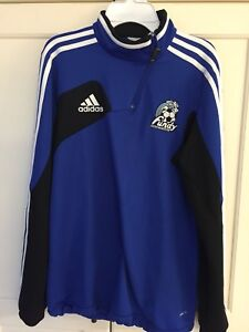 Fundy Soccer Half Zip size youth XL