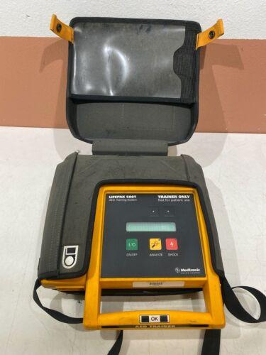 Medtronic Lifepak 500T AED Training System, works