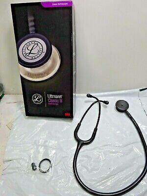 Missing Cover 3m Littmann Classic Iii Stethoscope Black Tubeblack Chestpiece