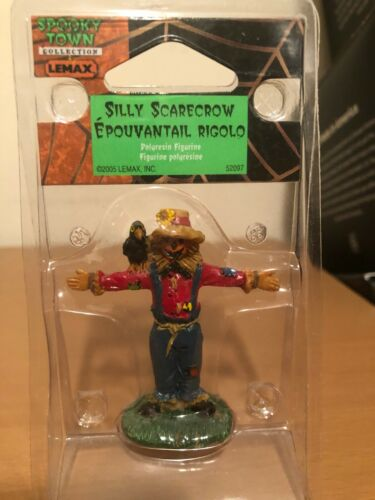 Lemax Spooky Town Silly Scarecrow #52097 Retired