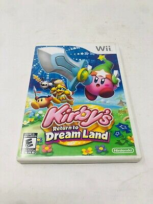 Kirby's Return to Dream Land (Nintendo Wii, 2011) Complete, Tested and Working