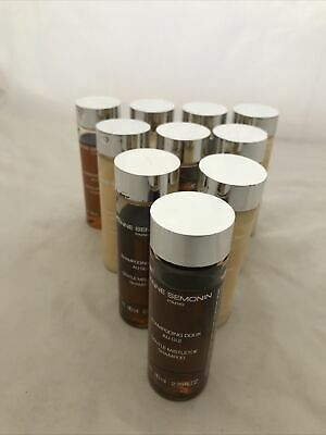 Lot of 10 Anne Semonin Shampoo & Conditioner 2.7oz Bottles - Bottles Mostly Full