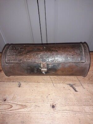 Antique 18th Century Tin/ Iron Candle Box