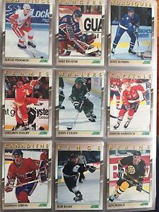 Cartes hockey Score 91 Young Superstar