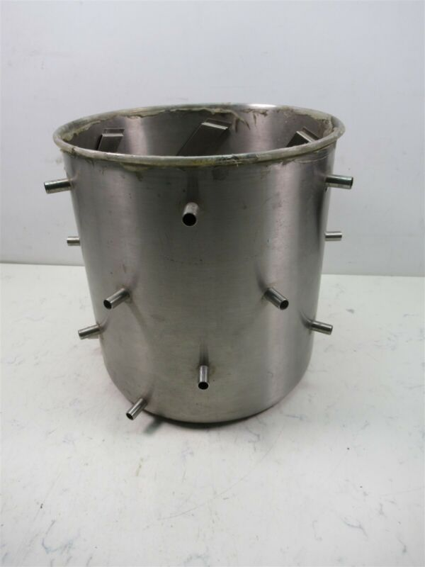 Virtis Research Equipment Freeze Dryer Stainless Steel Multi Port Manifold Drum