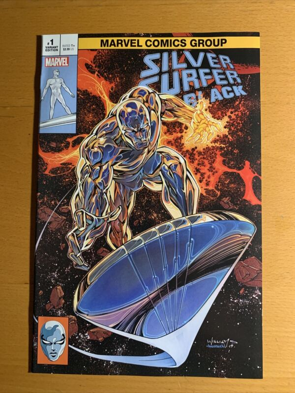 Silver Surfer Black#1 Scott Williams Trade Variant Limited to 600