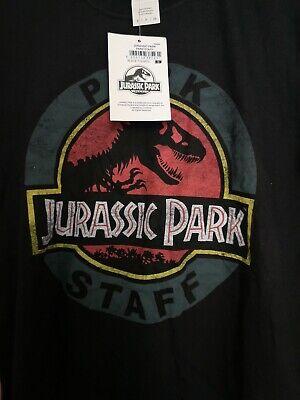 Jurassic Park Staff T Shirt Mens Small