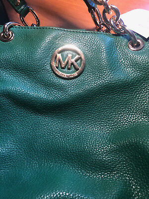 Sac a main cuir Michael Kors HandBag Leather Gooseberry Green Medium Neuf