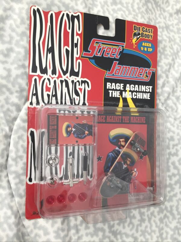 Rage Against The Machine Finger Skateboard RARE COMPLETE NIB 2000 Y2K