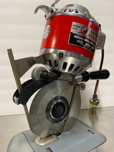 "Eastman Cardinal 548 Round Knife Cutting Machine 5 1/4"" - Fabric cutter"