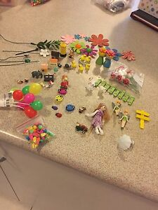 2 x sets  BRAND NEW. 70 piece tinkerbell fairy garden miniatures Marangaroo Wanneroo Area Preview