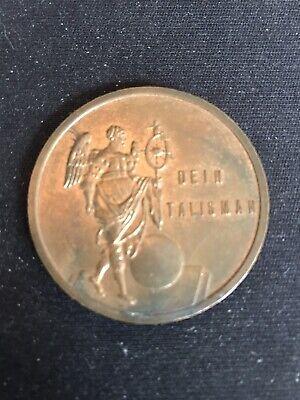 J949 Dein Talisman German Zodiac Medal
