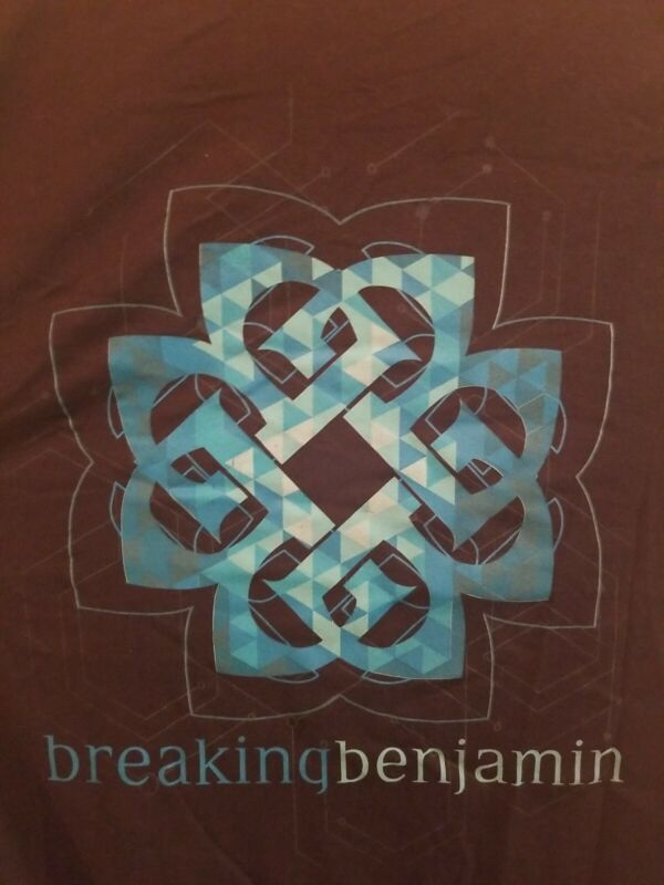 Breaking Benjamin Tour T-Shirt, Portland Oregon 11/15/18, Adult Size XL