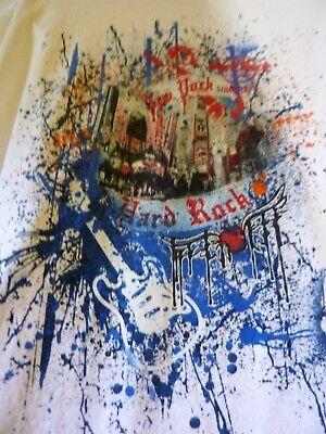 VINTAGE HARD ROCK CAFE NEW YORK GRAFFITTI TEE T-SHIRT ADULT SIZE XL COTTON