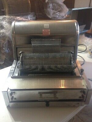 Berkel Counter Top Bread Slicer - Model Mb 38 - Works Great