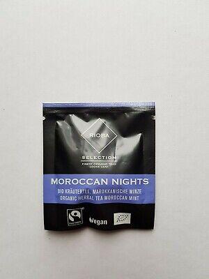 Rioba Selection # BIO Kräutertee Marokkanische Minze 18 Kuvertierte Prem Beutel  (Tee Marokkanische Minze)