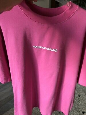 HOUSE OF HOLLAND t-shirt pink size Medium
