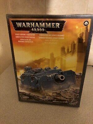 Space Marines Vindicator Warhammer 40k New In Box