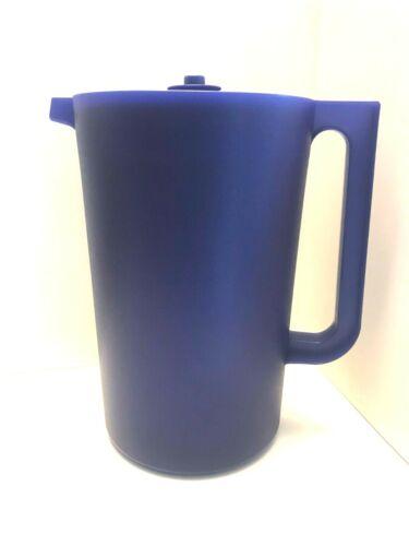 New Tupperware 1 gallon classic blue pitcher