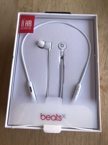 Beats by Dr. Dre BeatsX In-Ear Only Wireless Headphones - White