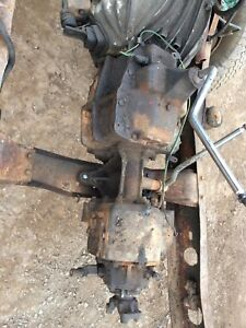 4 speed transmission with transfer case out of a sbc