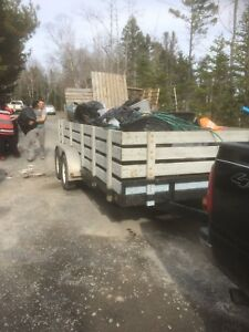 Movers & 17ft trailer for hire junk debris & more!!