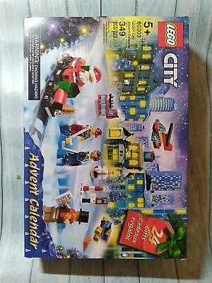 LEGO City Advent Calendar 349 Pcs 60303 Damaged Box Brand New
