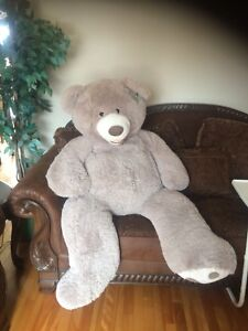 Plush life size teddy bear