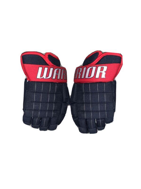 Warrior Franchise Hockey Gloves Pro Stock Columbus Blue Jackets