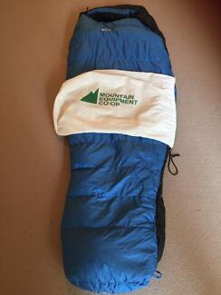 MEC Mummy Down Sleeping Bag 0C