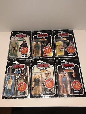 Star Wars Retro Collection Action Figure Wave 2 Complete Set Of 6 Sealed