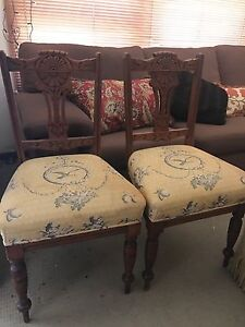 Dining Chairs - Pair Brighton-le-sands Rockdale Area Preview