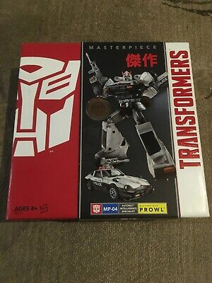 "HASBRO TRANSFORMERS MASTERPIECE PROWL MP-04 (TOYS""R"" US EXCLUSIVE) Sealed"