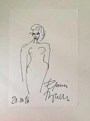 Elvira Bach Zeichnung Kunst