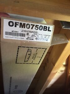 2x brand new Ouelett OFM 0750 750w heaters