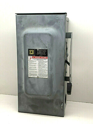 Square D D323nrb 100-amp Type 3r Outdoor General Duty Safety Switch 100a 240v